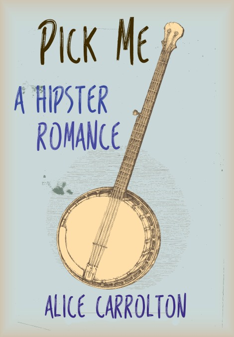 Pick Me! cover designed by me.